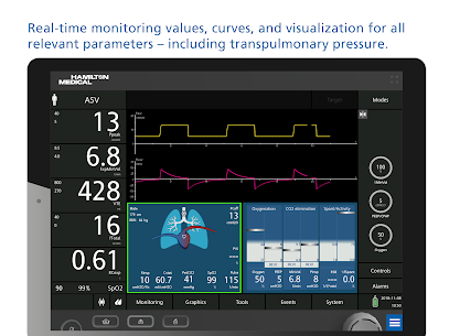 HAMILTON-C6 ventilator and patient simulation Apk Download 2021 2