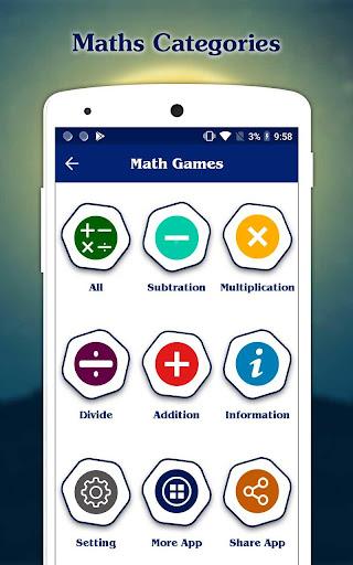 Math Games - Maths Tricks  screenshots 11