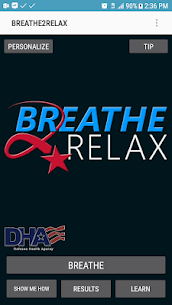 Download Breathe2Relax  Apps on in Your PC (Windows and Mac) 1