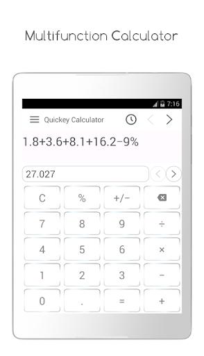 Quickey Calculator - Free app modavailable screenshots 7