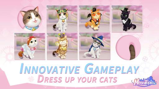 Meowtopia-Cat-themed decoration match 3 game  screenshots 17