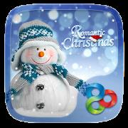 Romantic Christmas Go Launcher Theme