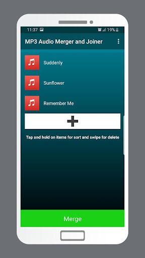 MP3 Audio Merger and Joiner 4.9 Screenshots 2