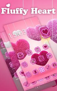 Fluffy diamond Hearts Theme: Pink Comics Launcher 3.9.12 Screenshots 3