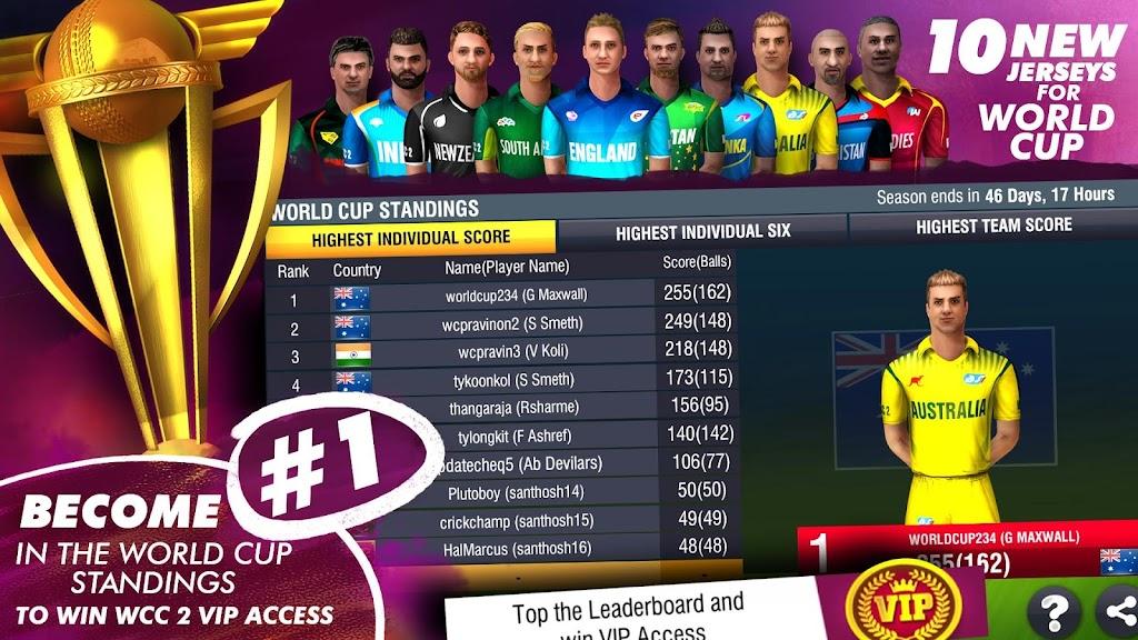 World Cricket Championship 2 - WCC2  poster 2