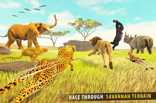 Savanna Animal Racing 3D: Wild Animal Games 1.0 screenshots 6