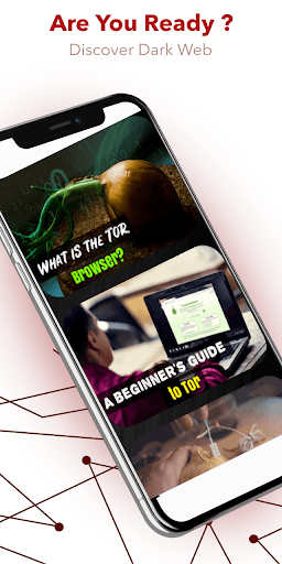 Darknet - Dark Web and Tor: Discover the Power 3.2 Screenshots 1