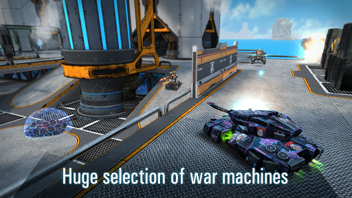 Robots VS Tanks: 5v5 Tactical Multiplayer Battles apklade screenshots 2