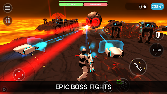 CyberSphere: SciFi Third Person Shooter Mod Apk (Unlocked) 2.14.32 4
