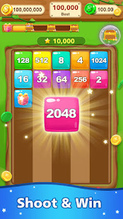 Number Shooter - New 2048 Block merge 1.3.0 screenshots 1