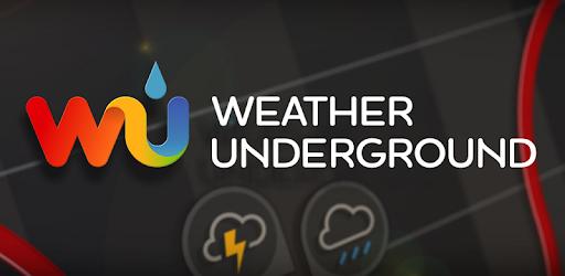 WEATHER UNDERGROUND App Widget
