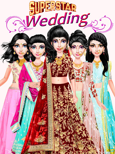Indian Wedding Girl - Makeup Dressup Girls Game 1.0.3 screenshots 2
