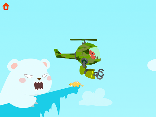 Dinosaur Helicopter - Games for kids  screenshots 13