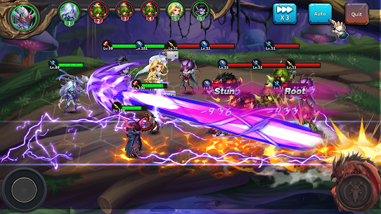 Runelords Arena: Tactical Hero Combat IDLE RPG Apk Mod + OBB/Data for Android. 6