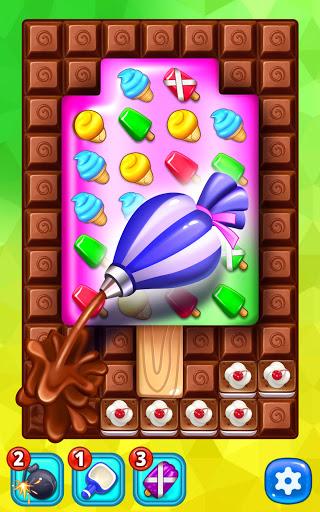 Ice Cream Paradise - Match 3 Puzzle Adventure screenshots 2