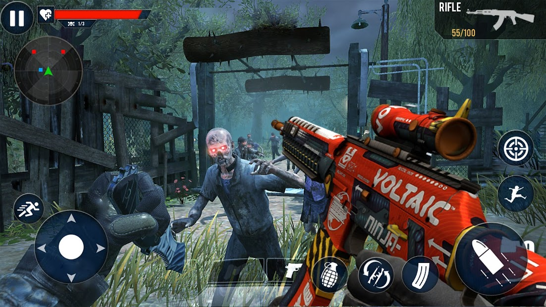 Zombie FPS Shooter 2020 جديدة غير متصلة بالإنترنت