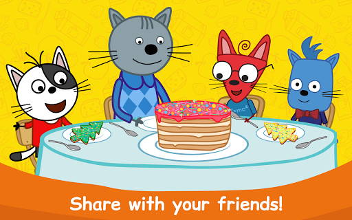 Kid-E-Cats: Cooking for Kids with Three Kittens!  screenshots 13