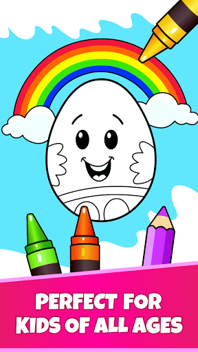 Easter Egg Coloring - Surprise Eggs Game For Kids 14.0 screenshots 1