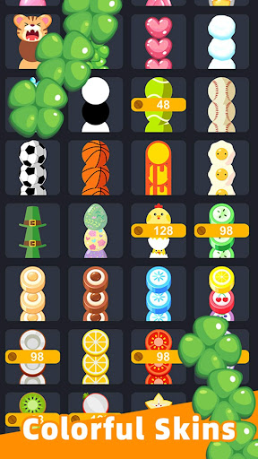 Slide And Crush - redesign snake game apktram screenshots 12