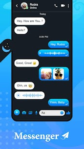 New Messenger – Text & Video Chat For Free 4