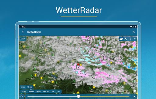 RegenRadar - mit Unwetterwarnung apktram screenshots 9