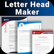 Letterhead Maker Business letter pad template Logo