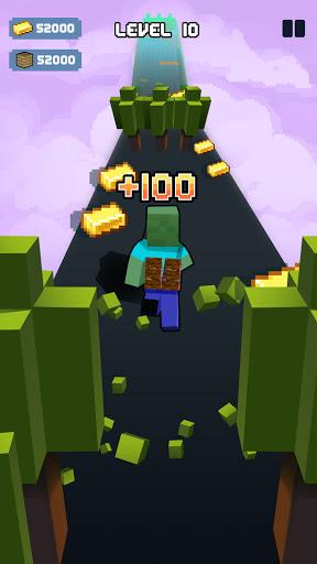 Craft Runner - Miner Rush: Building and Crafting Apkfinish screenshots 1