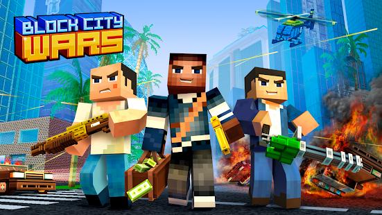 Block City Wars: Pixel Shooter with Battle Royale screenshots apk mod 5