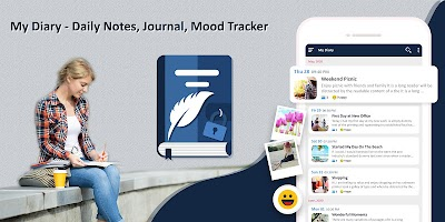 My Diary - Daily Notes, Journal & Mood Tracker