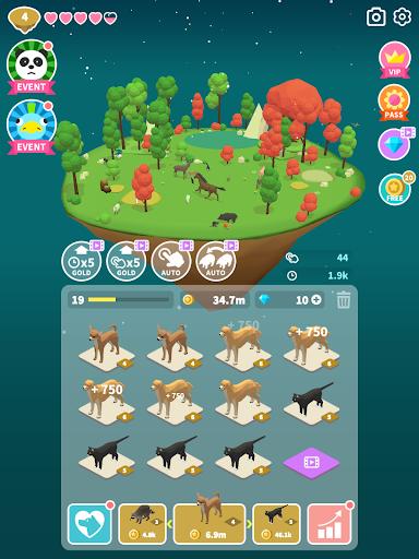 Merge Safari - Fantastic Animal Isle 1.0.98 screenshots 16