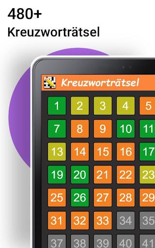 Kreuzwortru00e4tsel Deutsch kostenlos  Screenshots 4