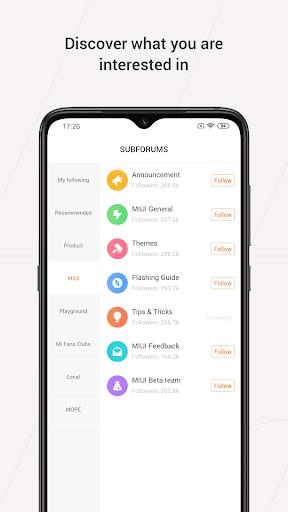Mi Community - Xiaomi Forum 4.5.14 Screenshots 3