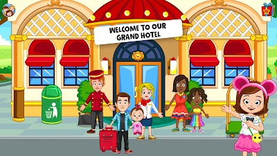 My Town : Hotel Free Android App Screenshot