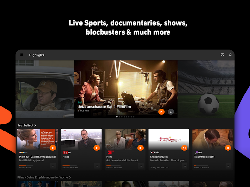Zattoo - TV Streaming App apktram screenshots 10