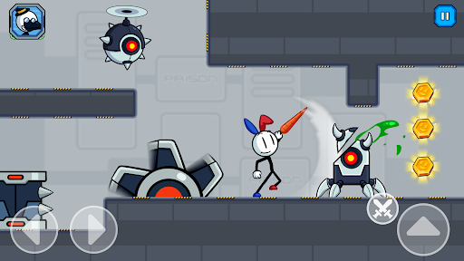 Stick Fight - Prison Escape Journey of Stickman apkpoly screenshots 12
