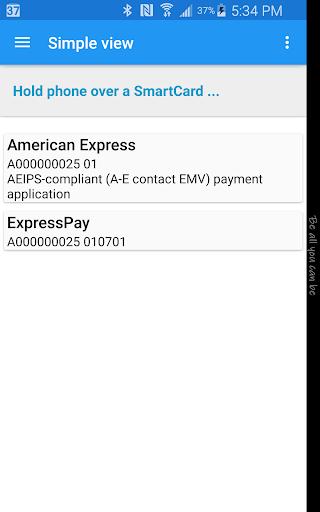 NFC Smart Card Info  screenshots 2