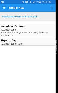 NFC Smart Card Info 2.1.2.15.170 Screenshots 2