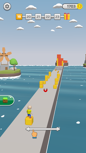Cube Rider - Cube Surfer 3D  screenshots 1