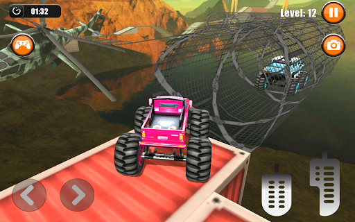 Ultimate Monster Truck: 3D Stunt Racing Simulator apkpoly screenshots 8