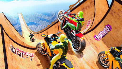 Mega Ramp Motorbike Impossible Stunts screenshots 17