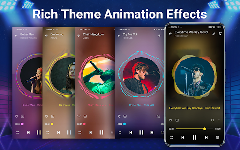Music Player Screenshot