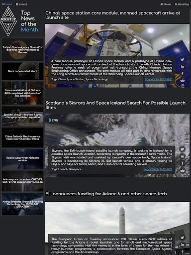BoostUp Group - Space Tech, Newspace, News, Events  screenshots 10