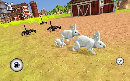 Wild Pet Rabbit Animal Sims -Forest Predator Craft  screenshots 1