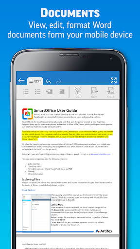 SmartOffice - View & Edit MS Office files & PDFs 3.9.10 Screenshots 2
