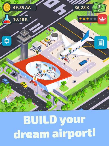 Air Venture - Idle Airport Tycoon u2708ufe0f apkdebit screenshots 18