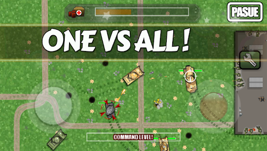TanksRoyale – 2D Battle Royale Hack Online (Android iOS) 1