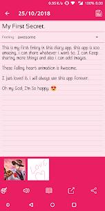 Secret Diary With Lock Apk 5