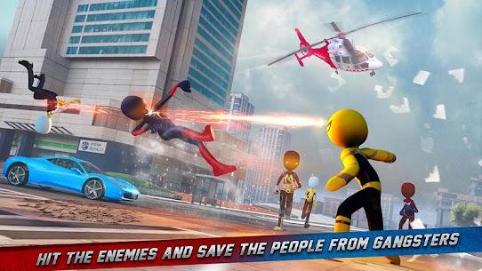 Stickman Ice Hero Crime City Mod Apk 1.6 (Ads Free) 3