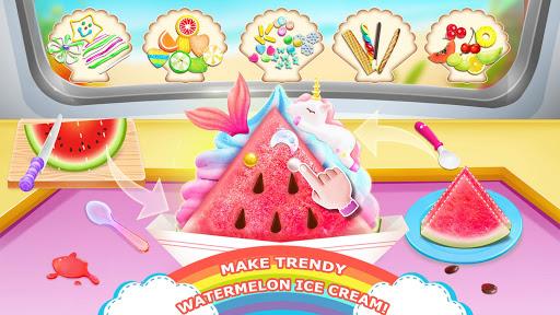 Télécharger Gratuit Unicorn Chef: Summer Ice Foods - Cooking Games mod apk screenshots 5