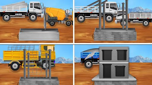 Construction Vehicles - Big House Building Games 1.0.4 screenshots 3